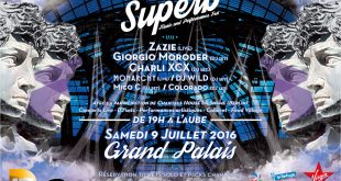 ffiche Superb - Grand Palais - 9 juillet
