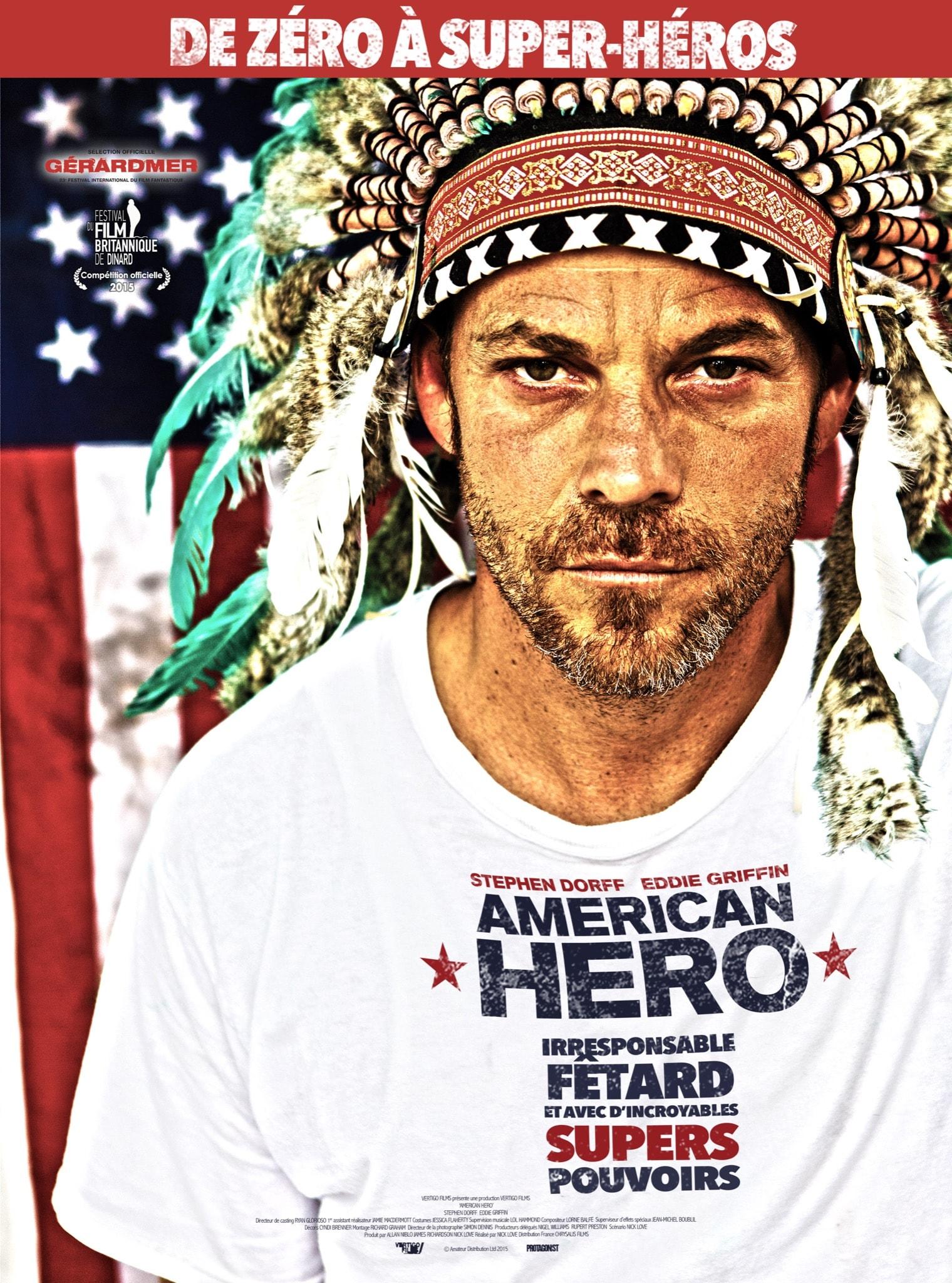 American Hero affiche