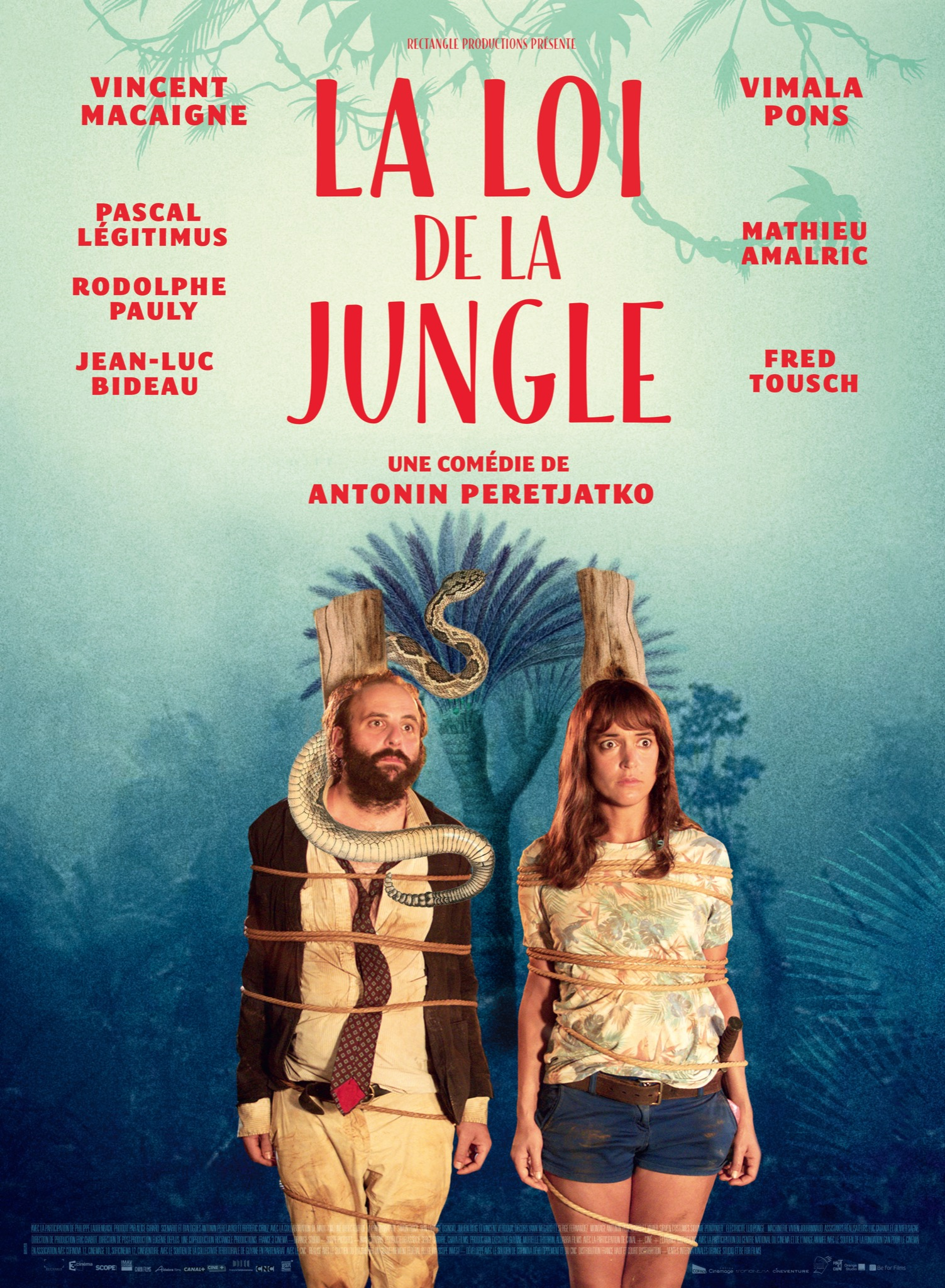 La Loi de la jungle image affiche
