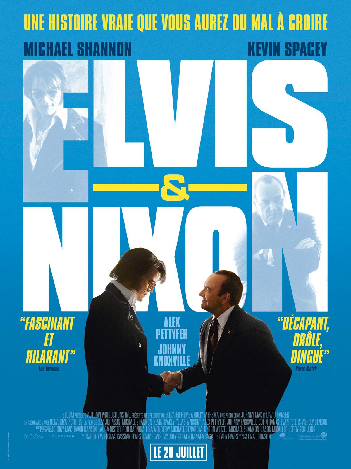 Elvis & Nixon affiche