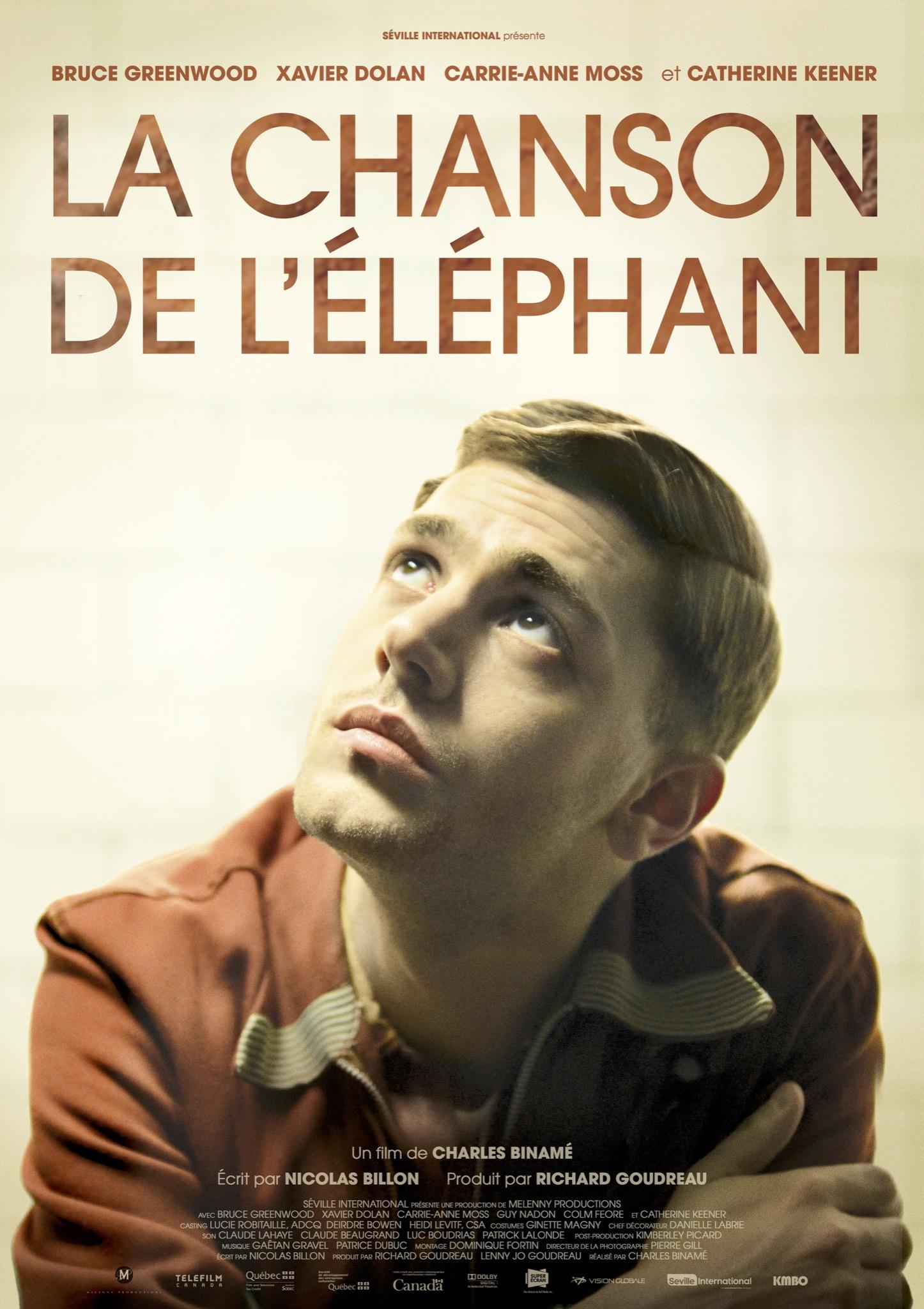 La Chanson de l'elephant affiche