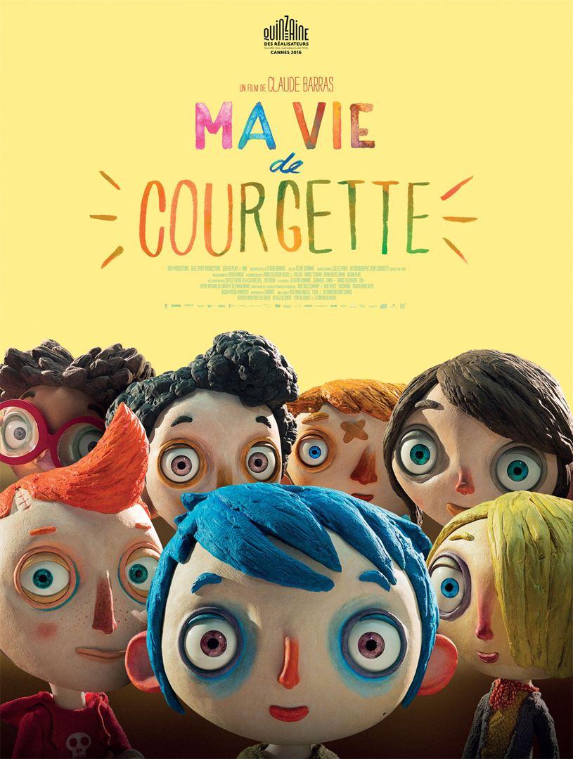 Ma Vie de Courgette affiche