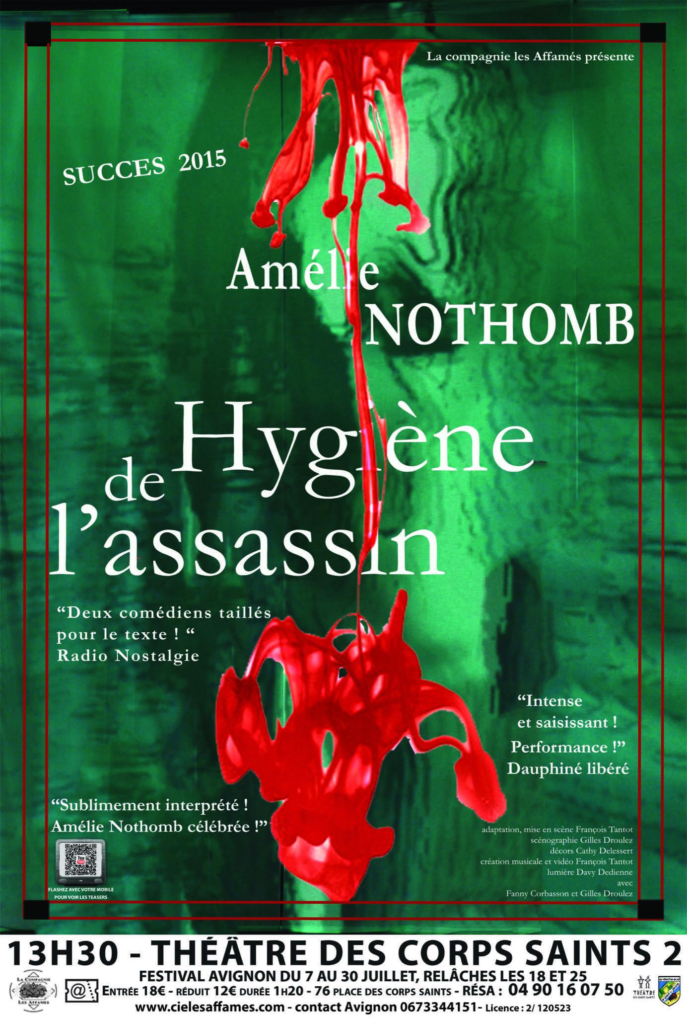 Hygiene de l'assassin affiche