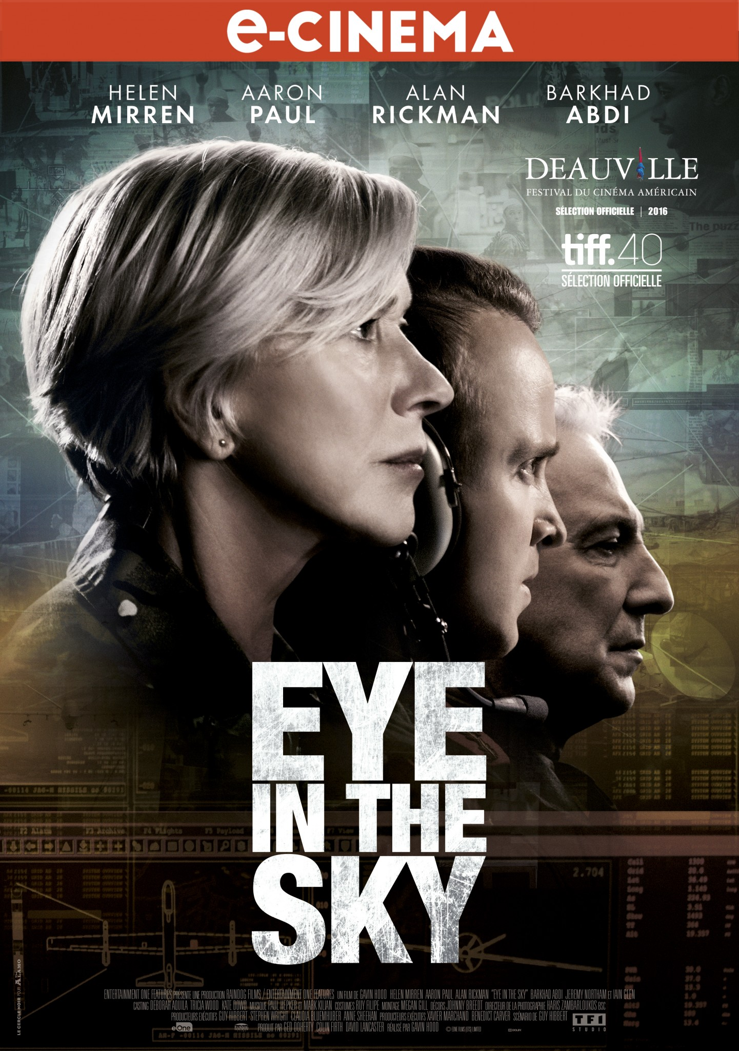 Eye in the sky affiche