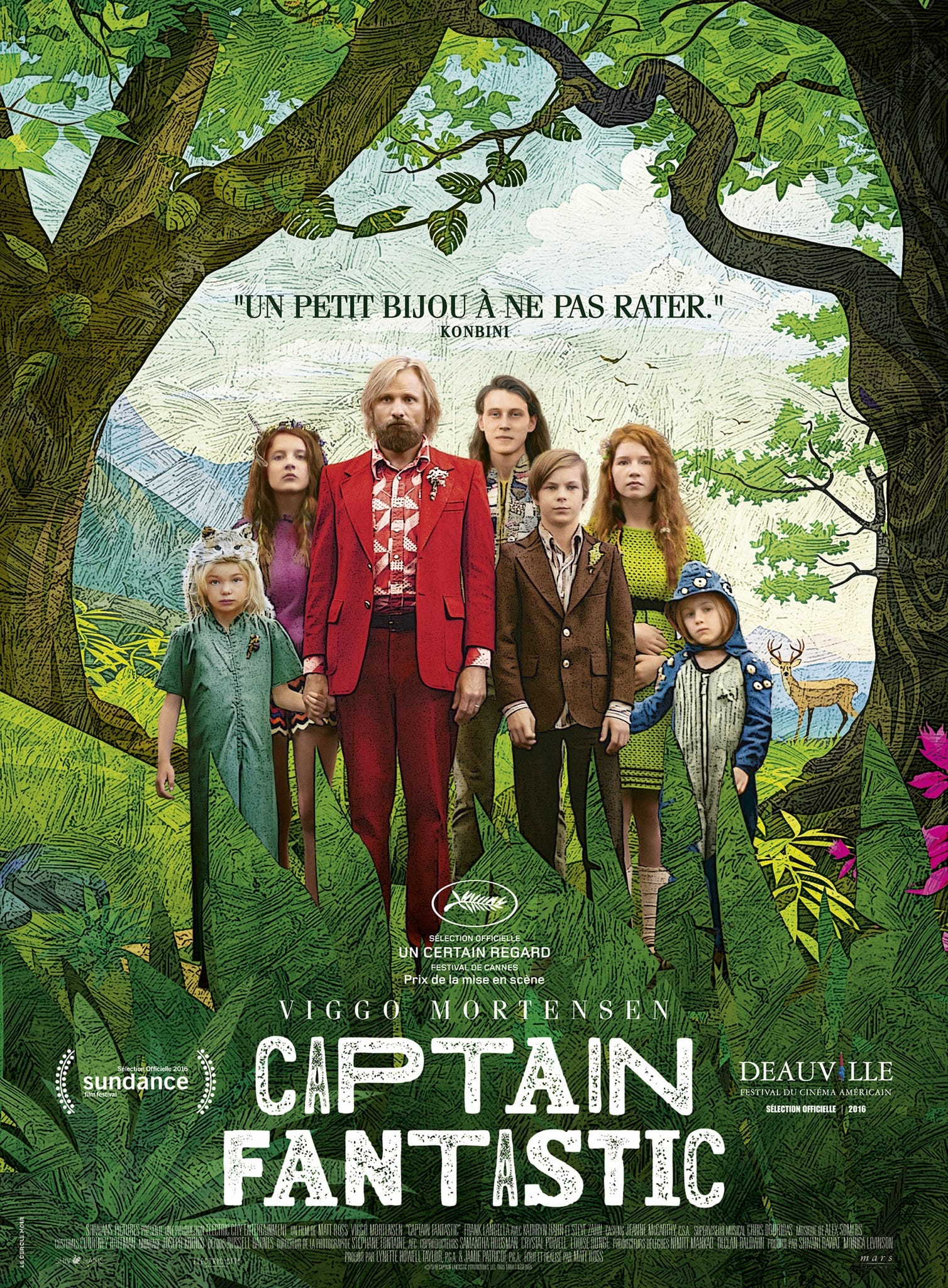 Captain fantastic affiche