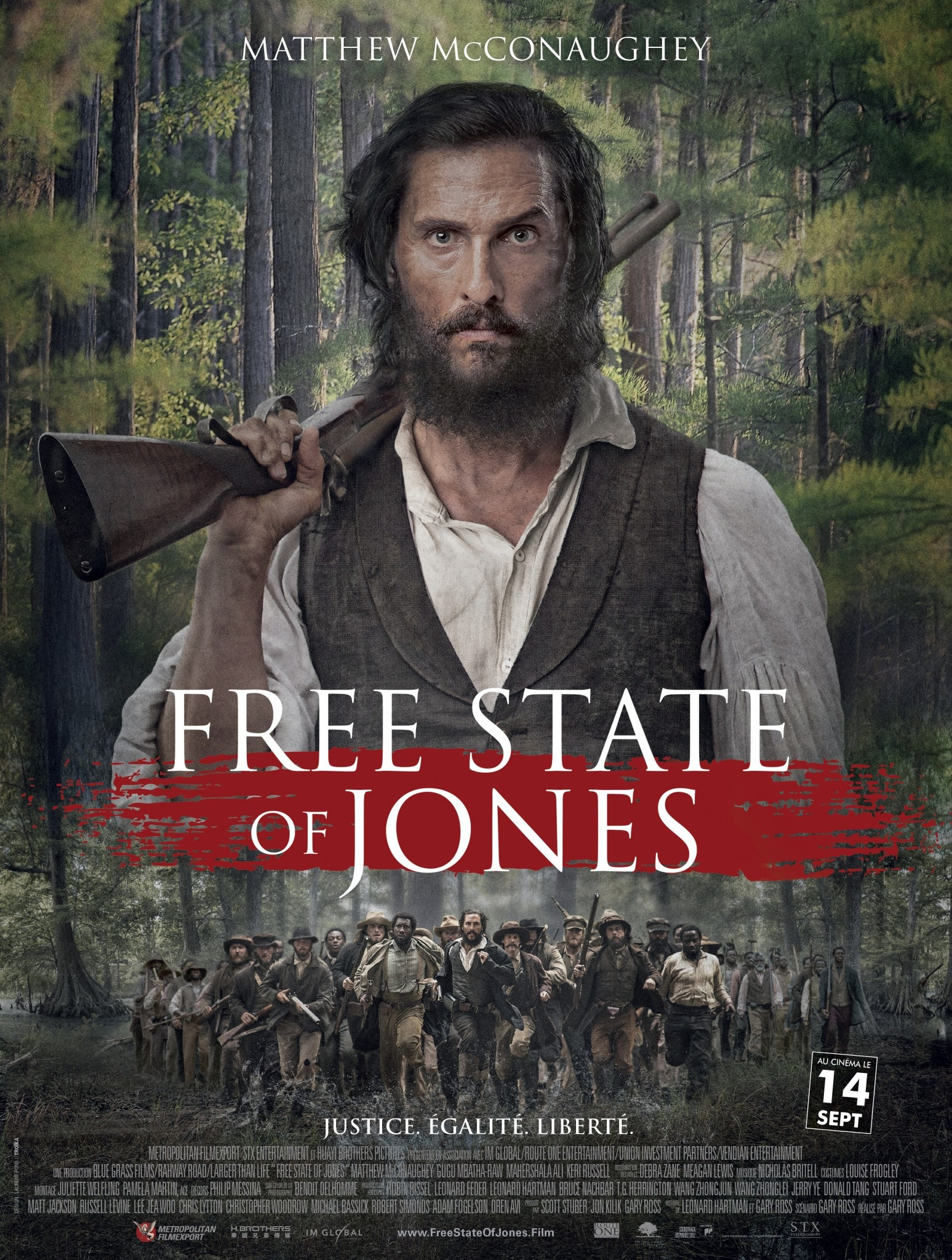 FREE STATE OF JONES Affiche