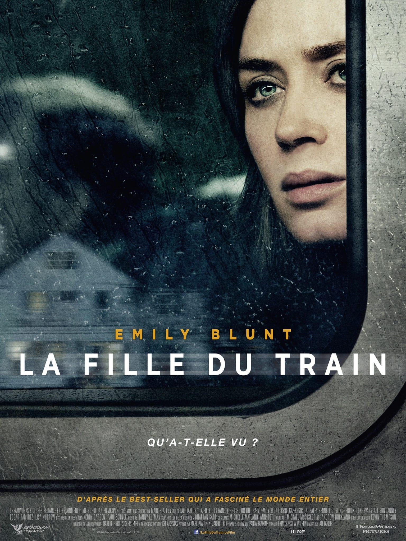 la fille du train affiche