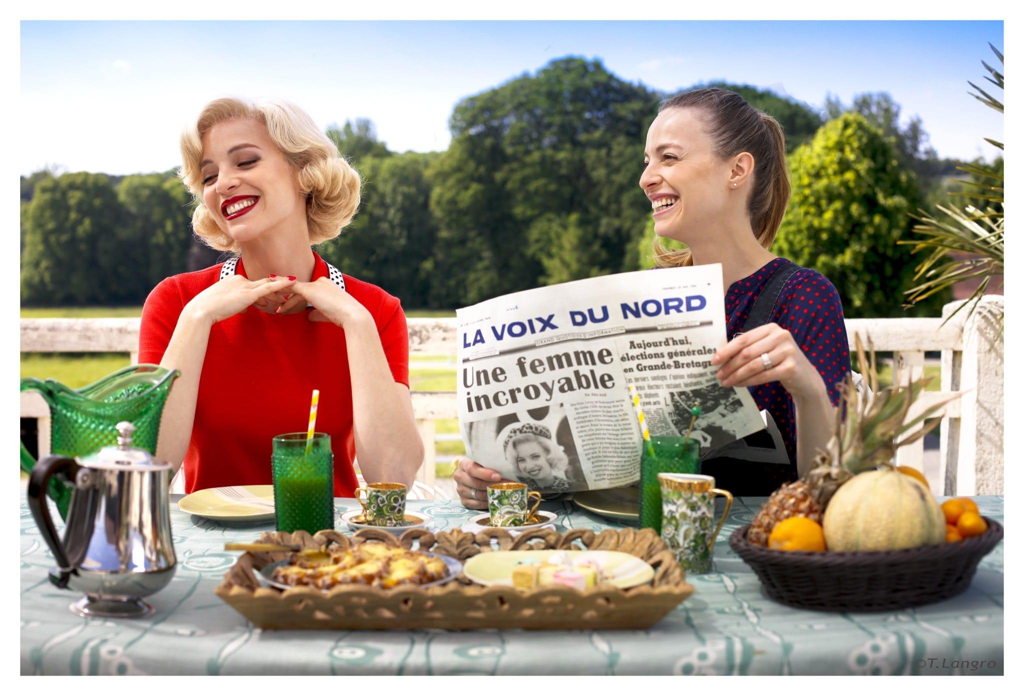 Les Petits Meurtres d'Agatha Christie imageMarlène vs Elodie FRENCK