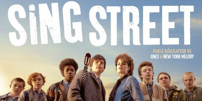 SING STREET Affiche film cinéma