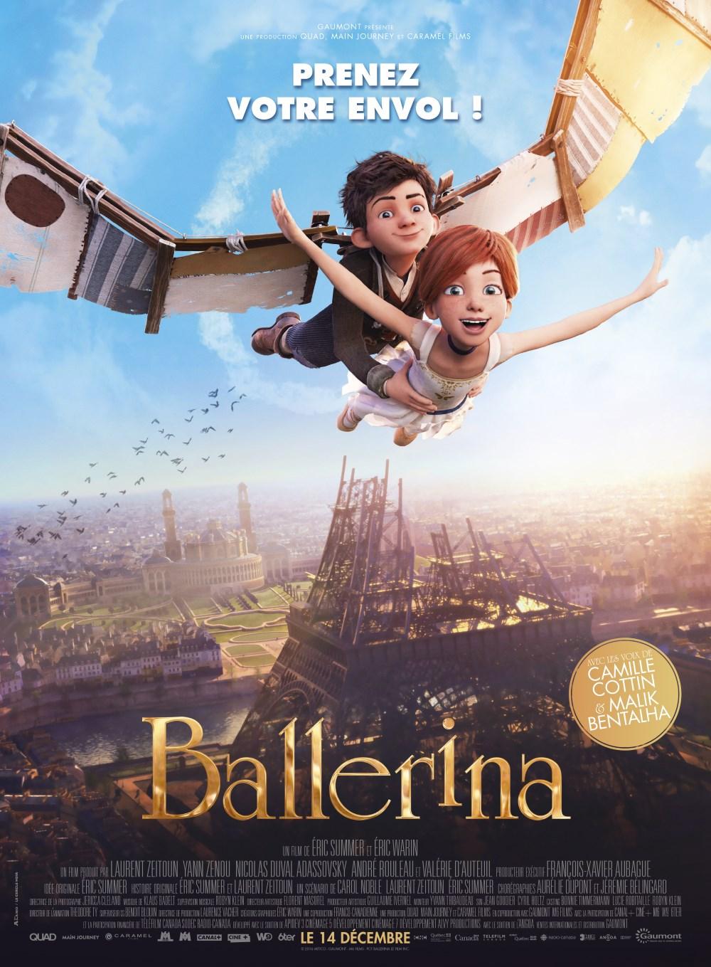 Ballerina affiche teaser film