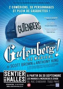 Gutenberg le musical affiche
