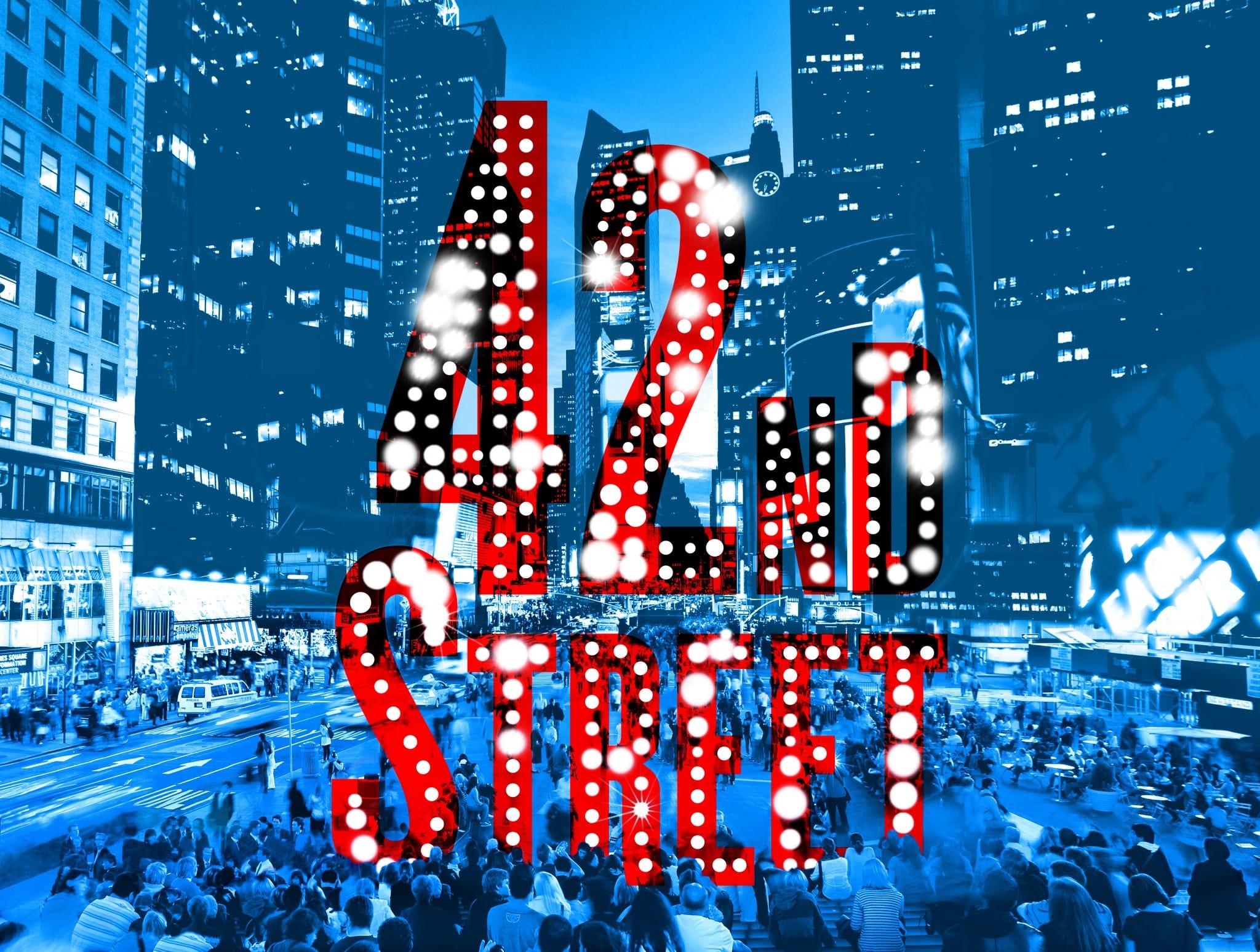 42nd Street Affiche