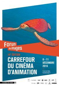 Carrefour du cinéma d'animation affiche
