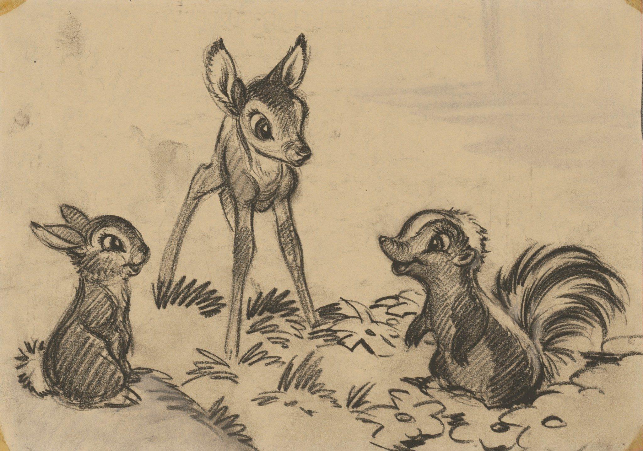 L'art des studios d'animation Walt Disney