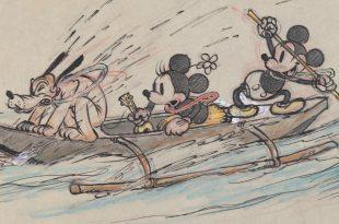 L'art des studios d'animation Walt Disney affiche