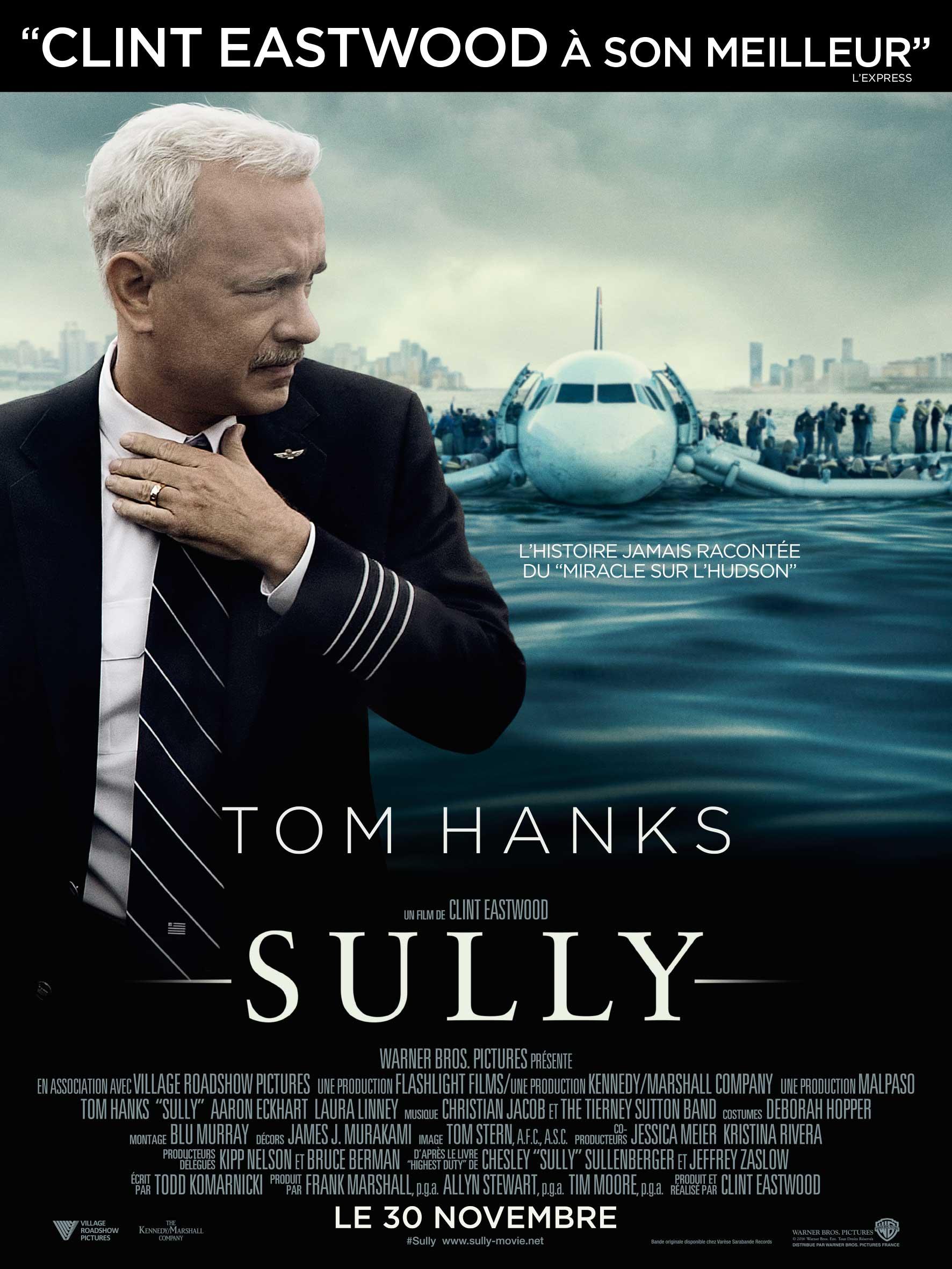 Sully Tom Hanks Affiche