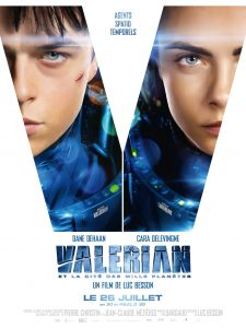 VALERIAN Affiche Teaser 2