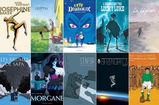 2017 Fnac Comic Book Award selection