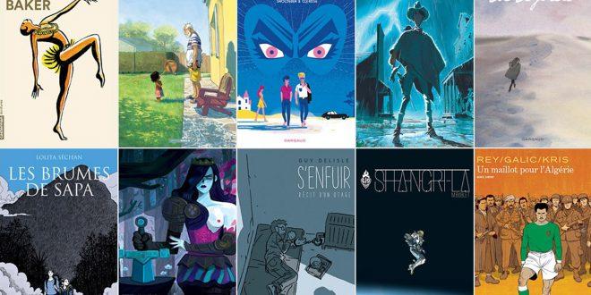 2017 Fnac Comic Book Award selection