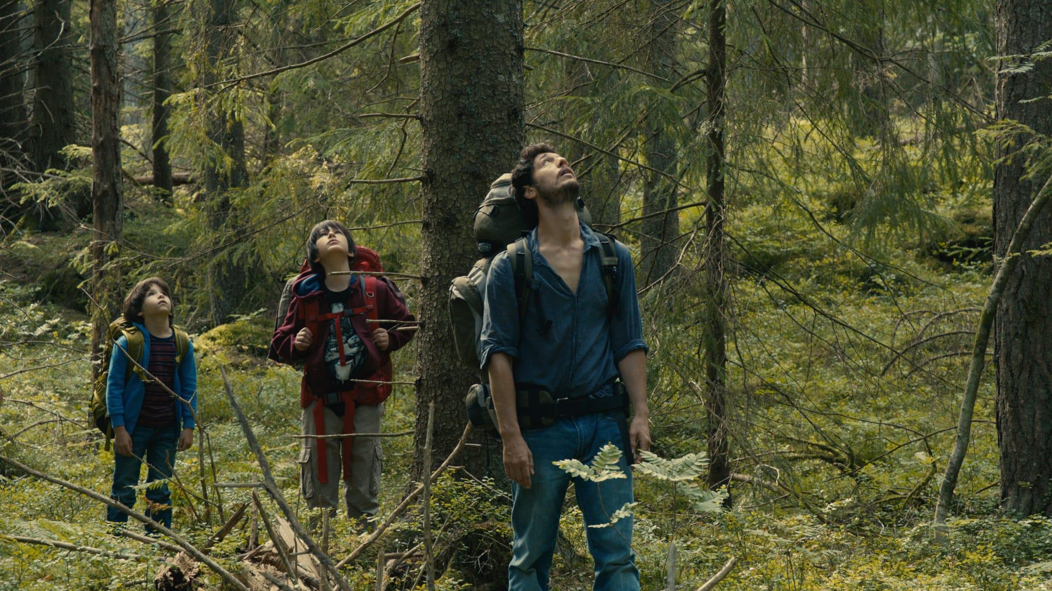 Les Arcs European Film Festival dans la foret gilles marchand