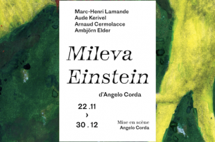 Mileva Einstein Angelo Corda affiche