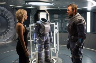 Chris Pratt; Jennifer Lawrence passengers photo