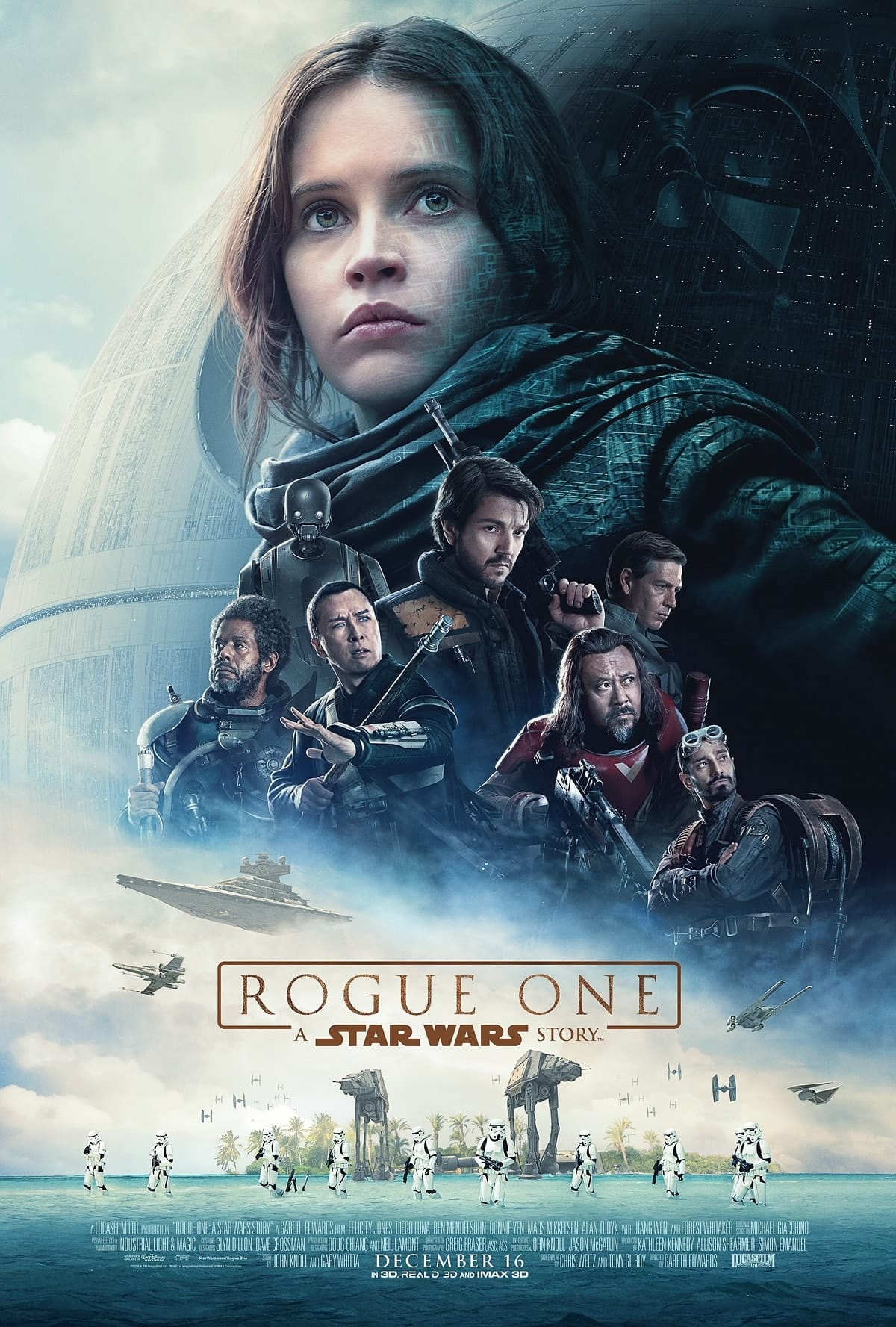 """Critique / """"Rogue One: A Star Wars Story"""" (2016) : ils visèrent la Lune pour nous faire atterrir dans les étoiles 2 image"""