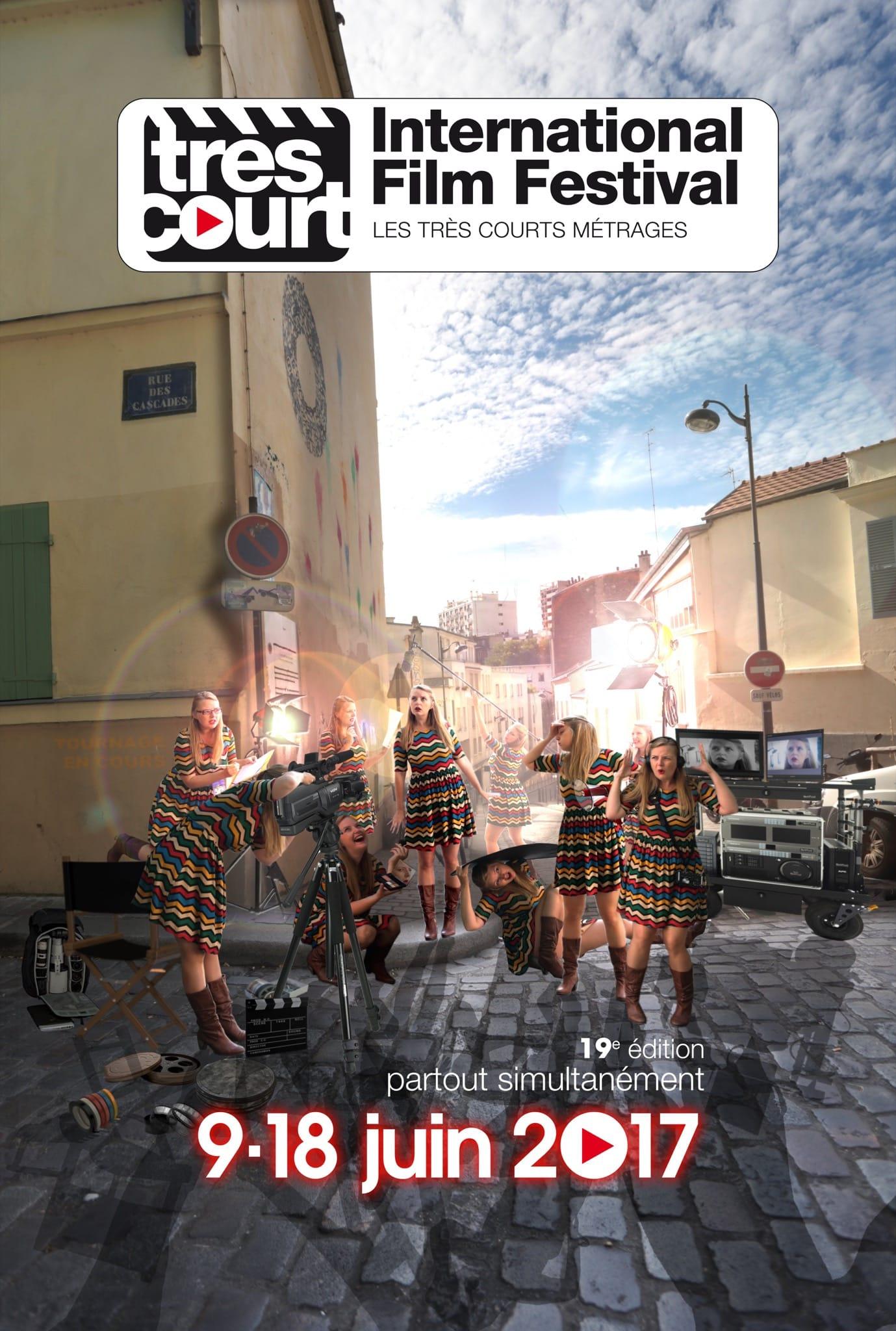 Tres Court International Film Festival 2017 affiche