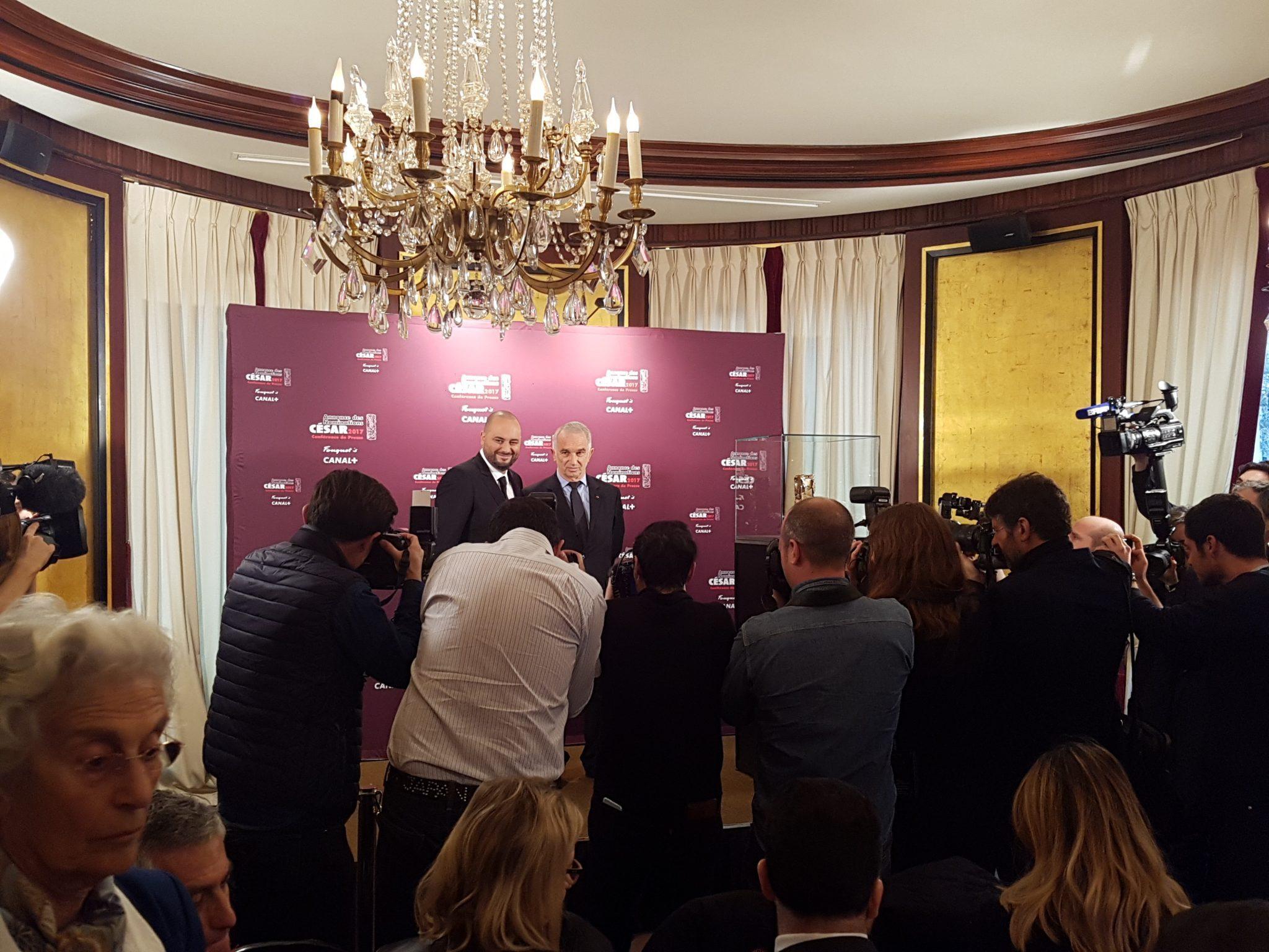 Cesar 2017 conference de presse nominations image 02