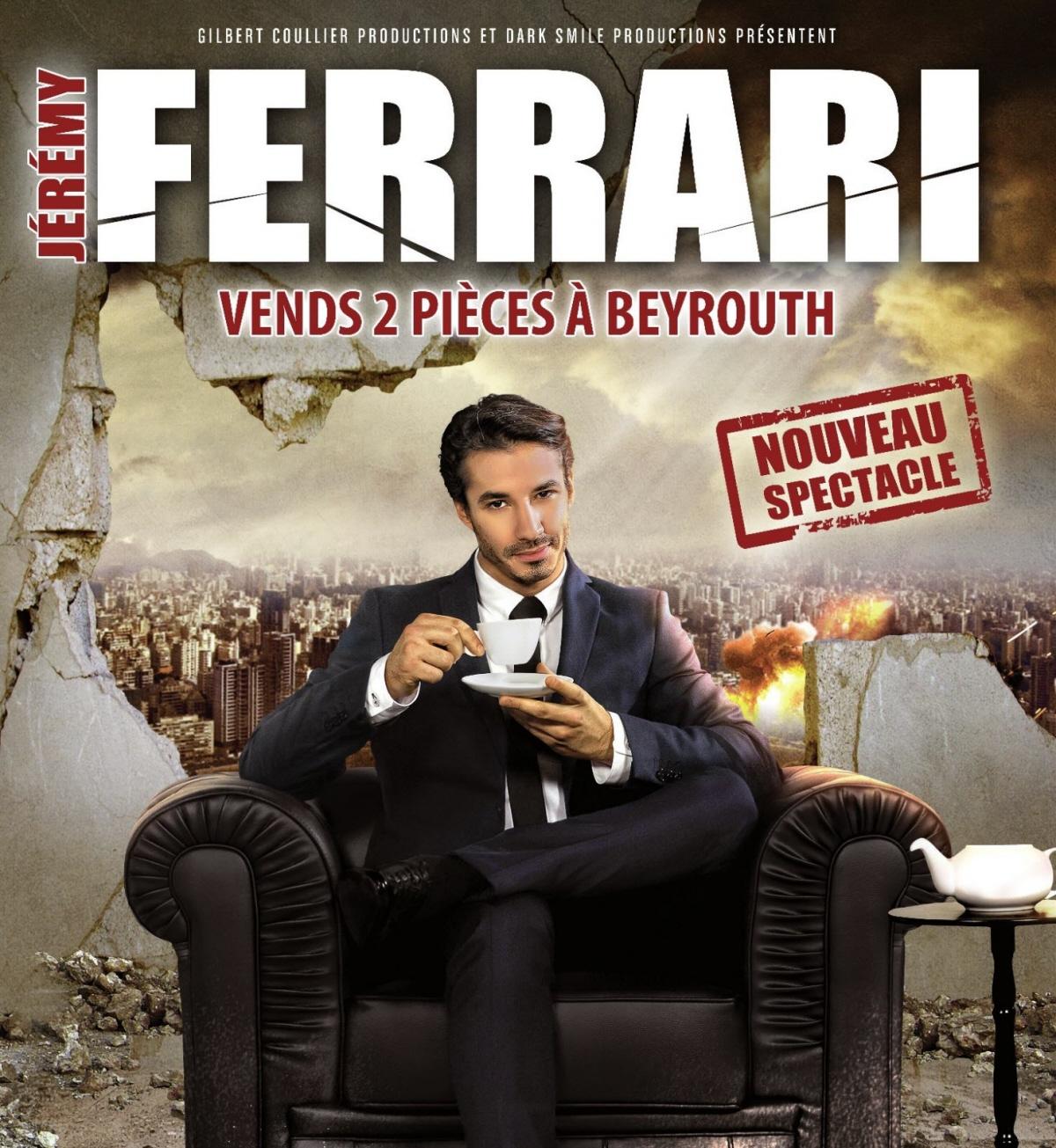 Jeremy Ferrari affiche