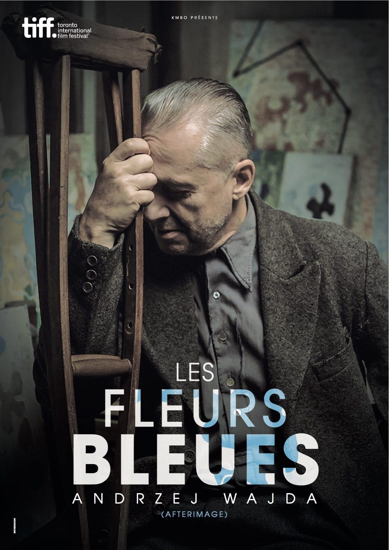 LES FLEURS BLEUES affiche