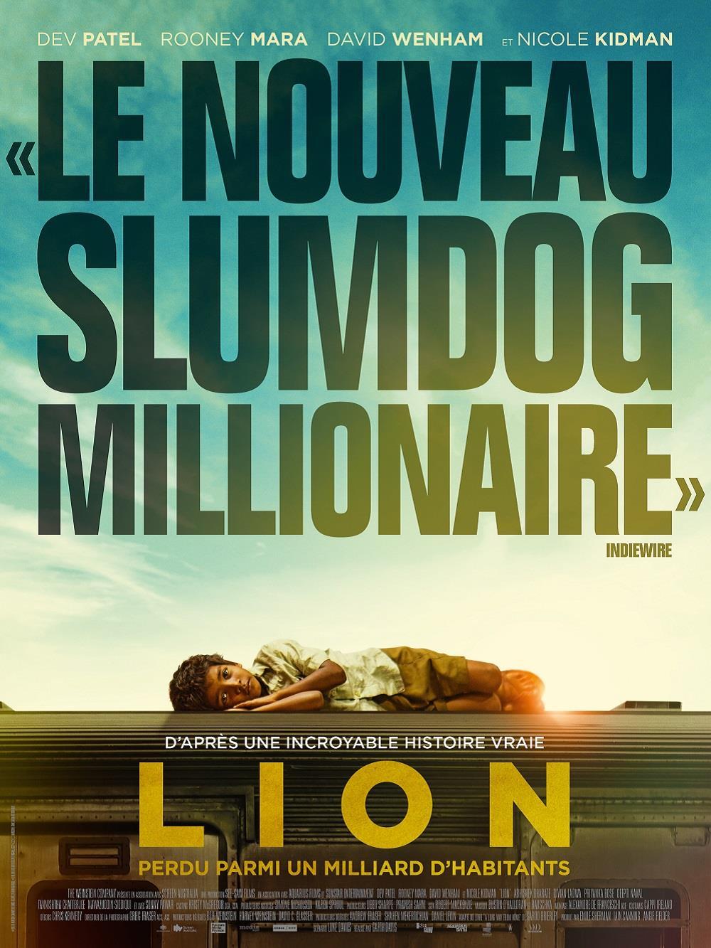 LION affiche film