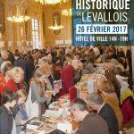 Suivez-nous au Salon du Roman Historique de Levallois