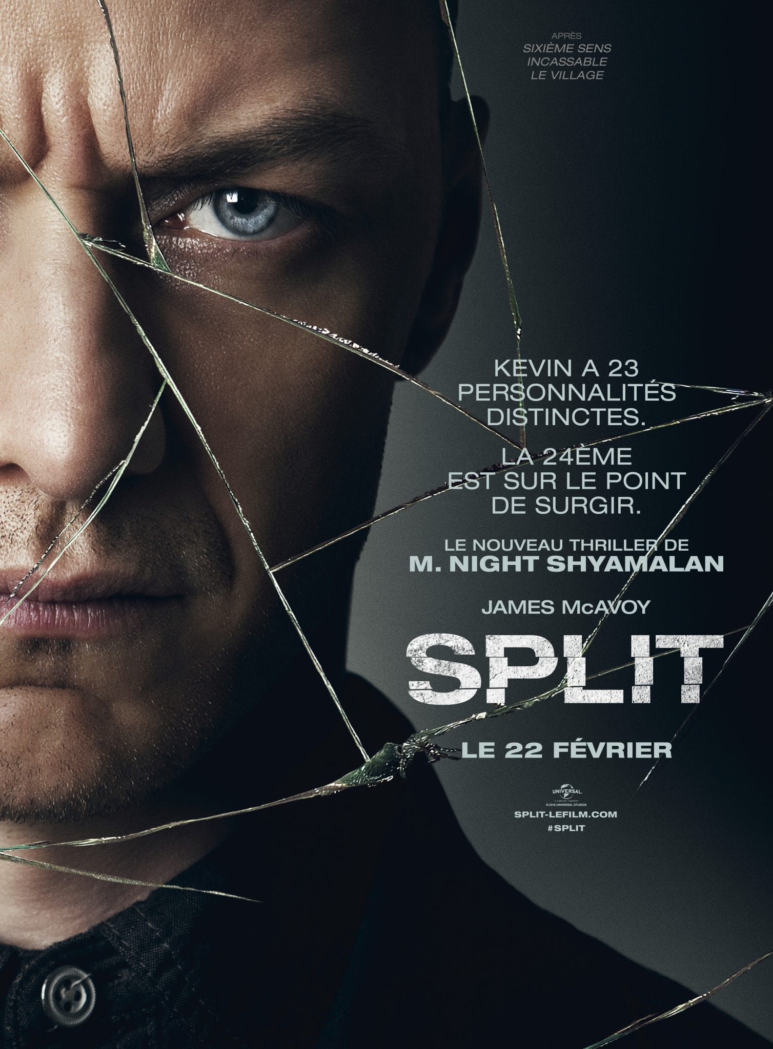 Split affiche night shyamalan