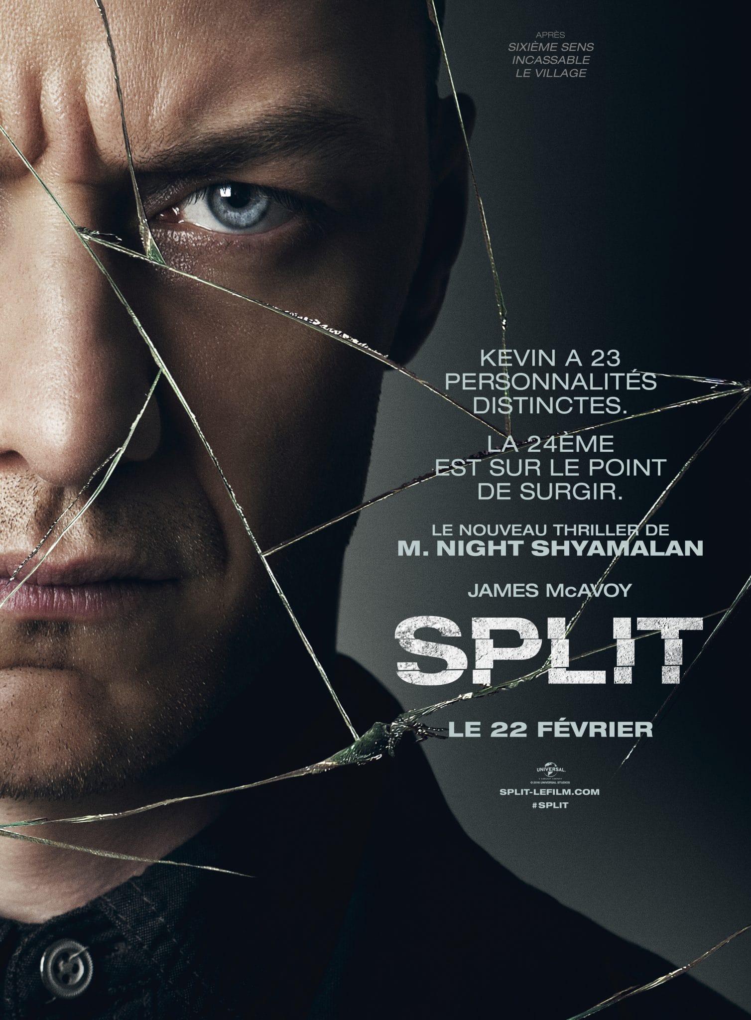 Split affiche night shyamalan
