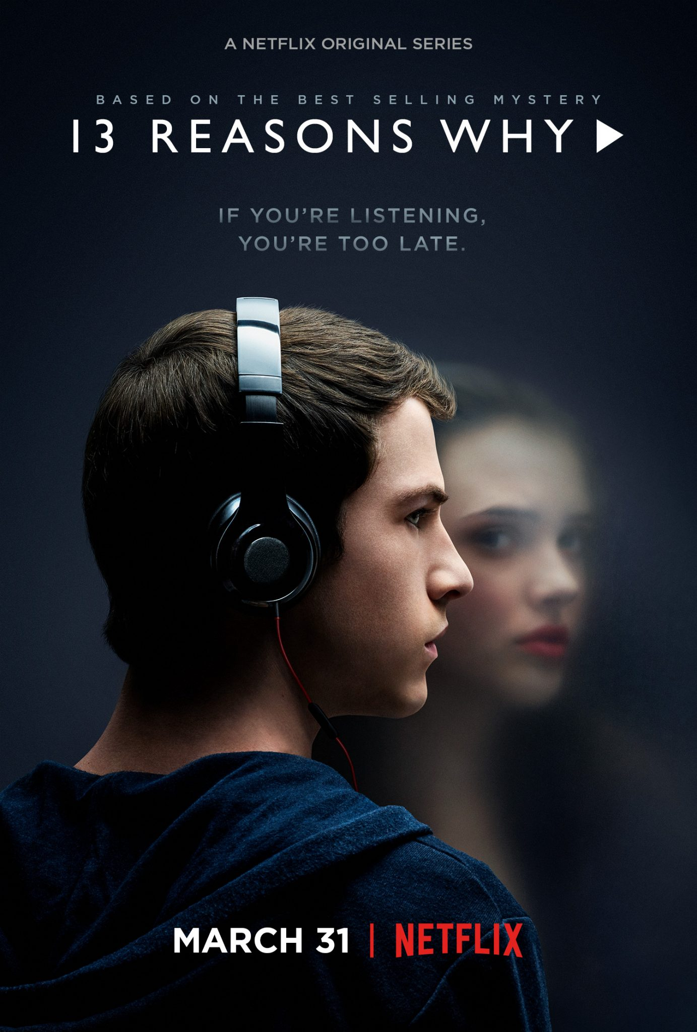 13 Reasons Why affiche