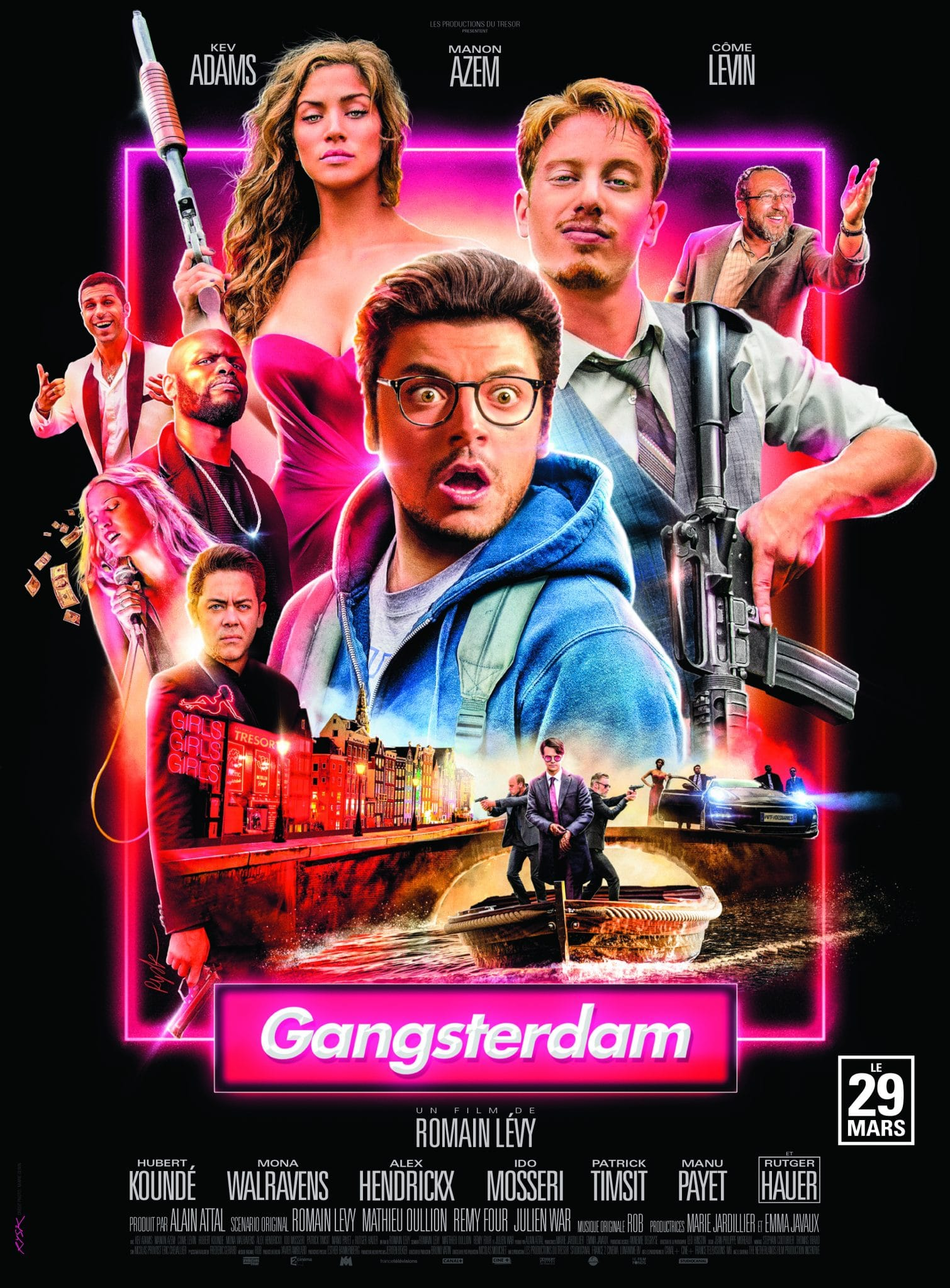 GANGSTERDAM affiche film Kev Adams