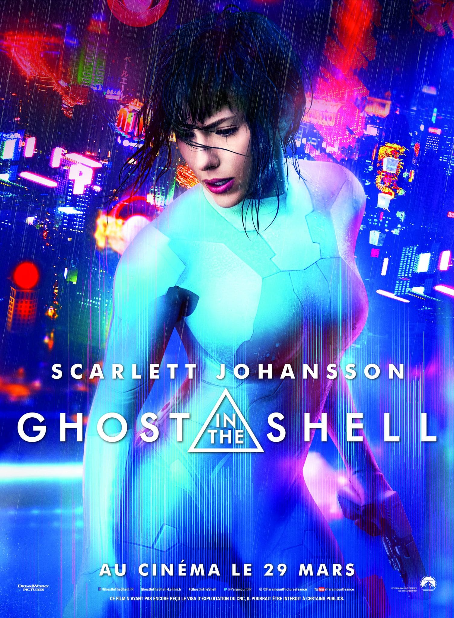 Ghost in the Shell affiche film