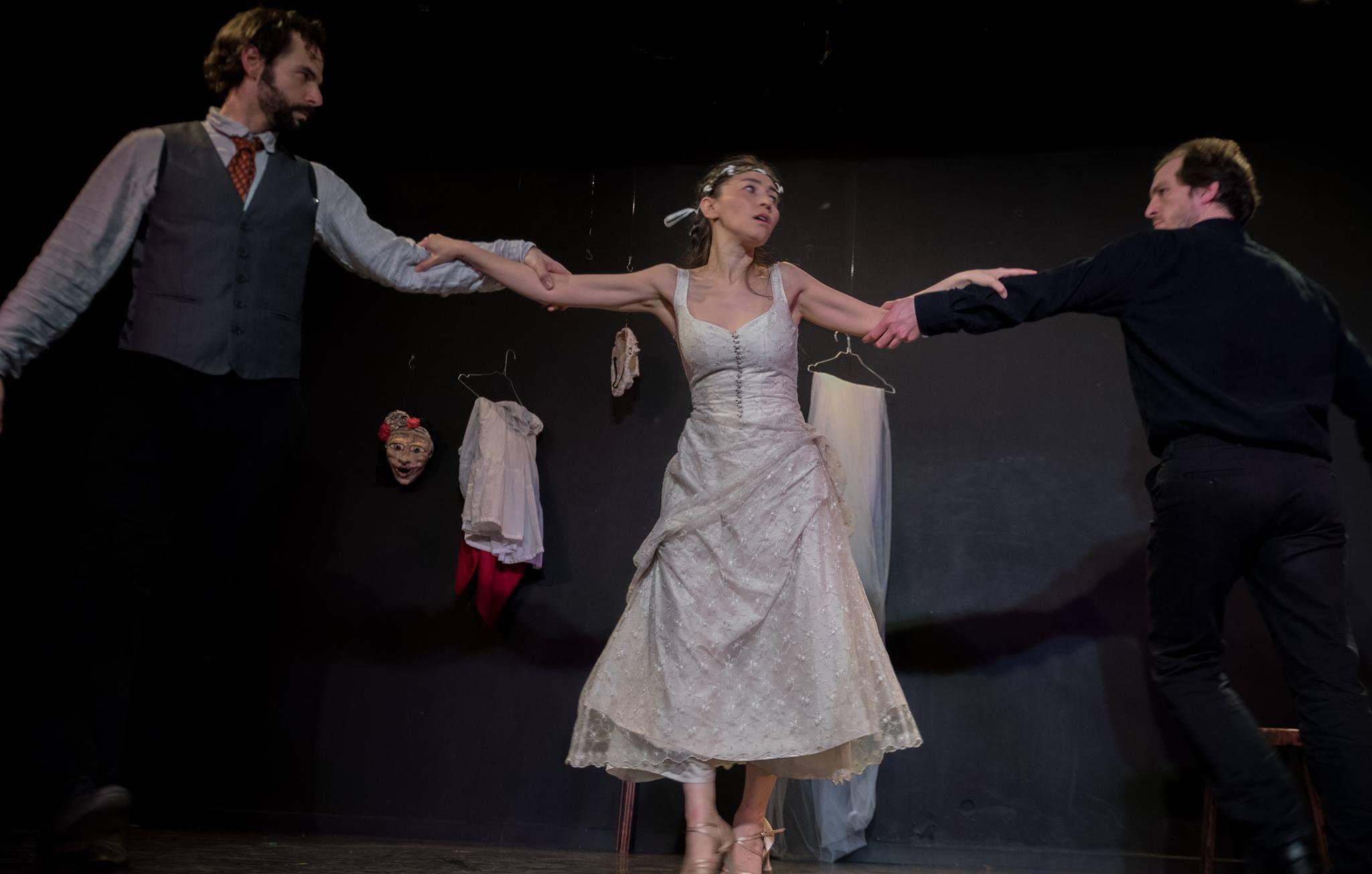 Noces de sang Compagnie la Grue Blanche image A La Folie Theatre 2017 Tango à 3 (c) Jean-Christophe Fossey