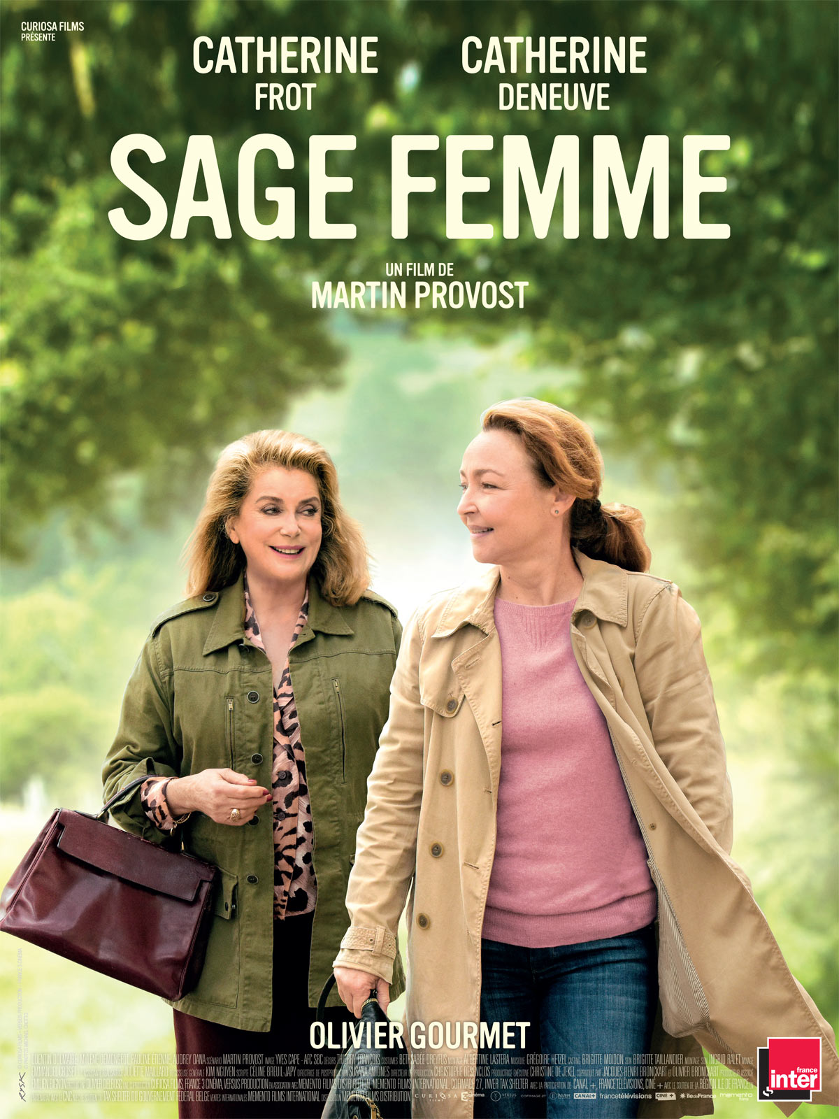 Sage femme film affiche