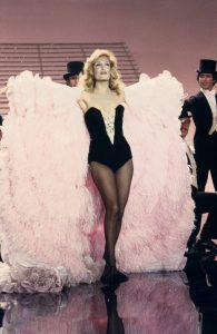 Dalida lors d'une émission sur TF1, 1980