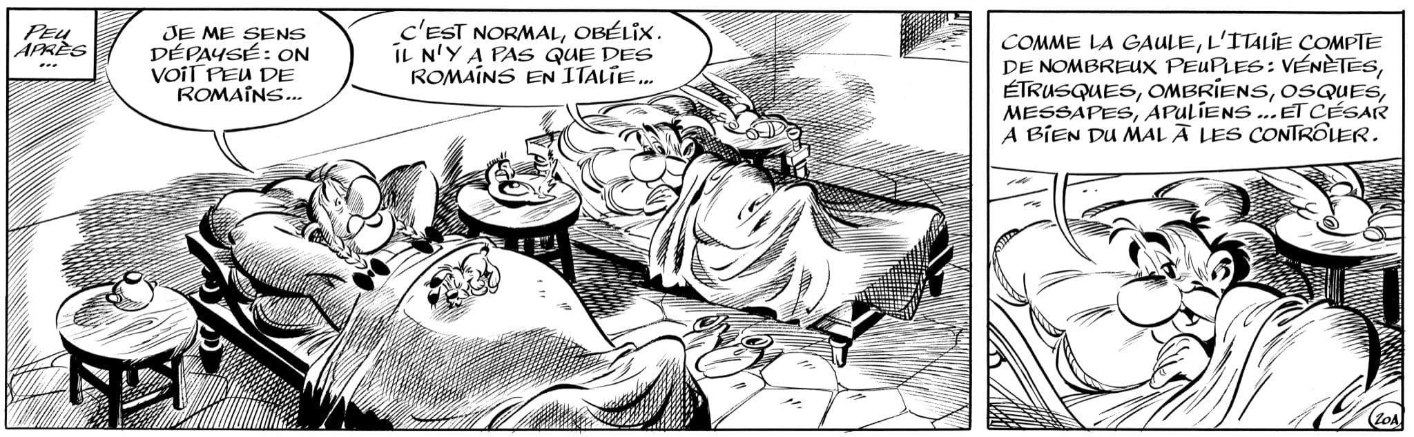 Astérix et la Transitalique image Strip-FR