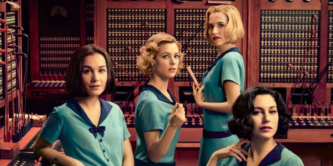 Las Chicas Del Cable Affiche