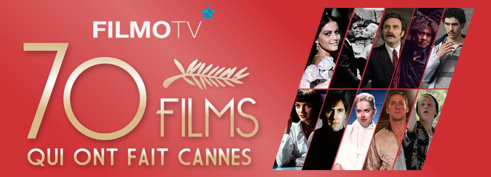 filmotv Festival de Cannes : 70 ans, 70 films affiche
