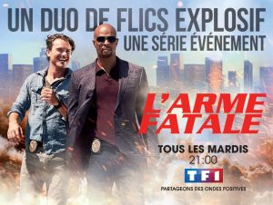 l'arme fatale saison 1 affiche TF1