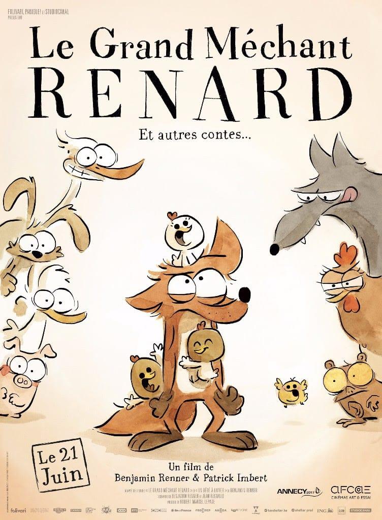 Le grand méchant renard et autres contes affiche