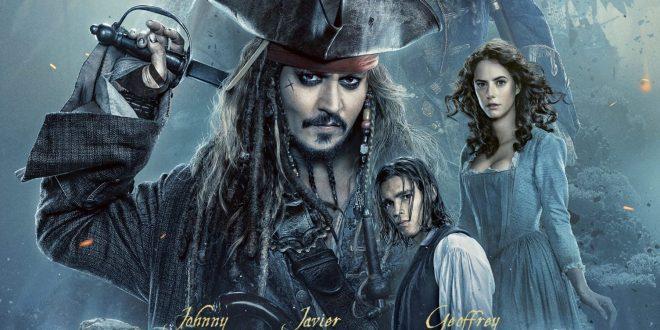 Pirates des Caraïbes La Vengeance de Salazar affiche