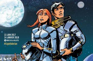 Valérian et Laureline en mission pour la Cité affiche
