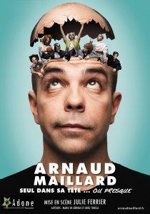 Arnaud Maillard Seul dans sa tête affiche