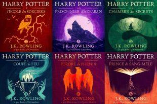 Harry Potter audible image couvertures tomes 1 à 6